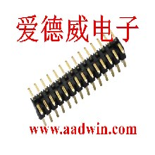 2.0间距贴片双排排针排母,焊接PCB板