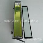 0.6米轮船铝合金三防灯不锈钢搭扣铝合金三防灯外壳套件单管铝合金三防灯图片
