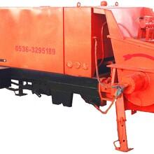 青州汇丰源地暖施工地暖设备细石混凝土泵小骨料混凝土泵