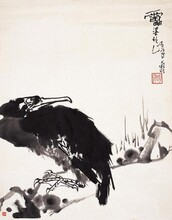 潘天寿字画价格现在高不高,傅抱石字画价格行情怎么样图片