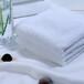 毛巾厂家批发纯棉21支100克白毛巾酒店宾馆促销礼品用可绣LOGO