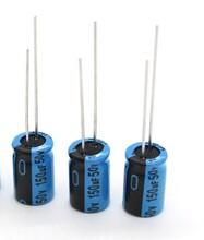 低阻抗耐高温电容.长寿命铝电解电容图片