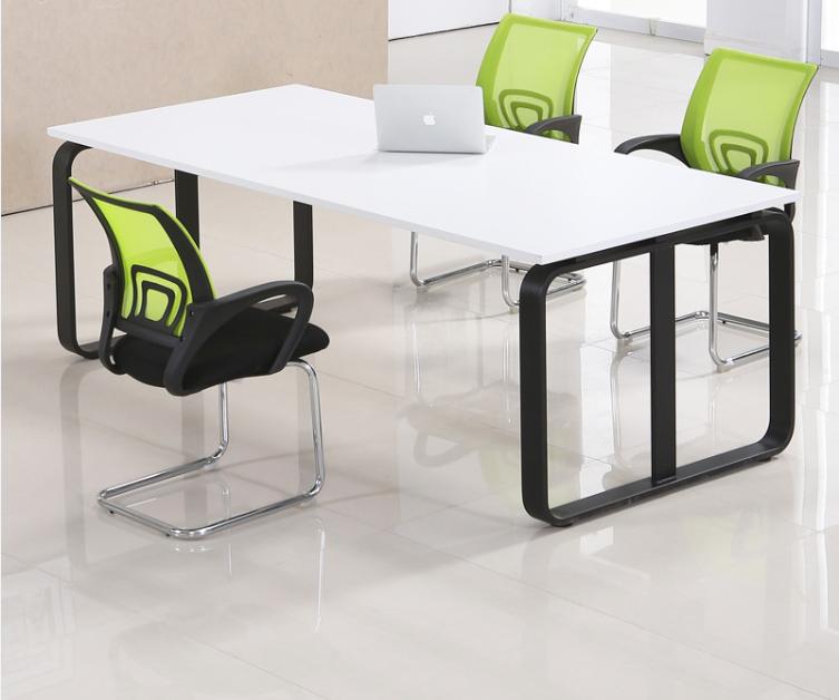 苏州福森家具新款简约办公职员培训个性创意会议桌组合办公家具