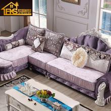 欧式布艺转角沙发组合法式实木沙发简欧沙发法式组合L型沙发