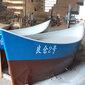 小型超市吧台景观装饰船船型吧台木质展台道具图片