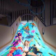 互动投影墙面游戏,投影互动地面游戏,体感交互魔幻滑梯