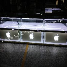 苹果手机柜三星华为展示柜台定做电信联通业务受理台收银台体验台齐齐啥尔供应