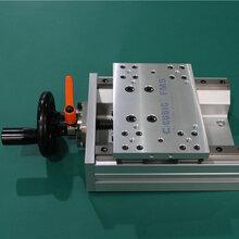 库比克手动检测平台梯形丝杆驱动半封闭式手动滑台CUE150