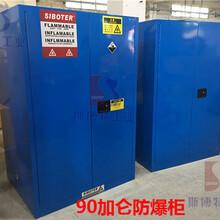蓝色弱酸弱碱防火安全柜防爆柜化学品柜