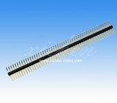 1.27mm间距排针单排90度/排针连接器供应商