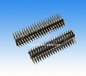 2.0间距排针三排90度/高品质排针连接器/供应商