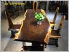 实木黑檀大板茶桌老板桌