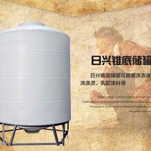 滨州30吨塑料储罐化工储罐耐酸碱耐腐蚀日兴容器规格齐全厂家直供图片