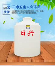 新乡日兴5吨塑料化工储罐玻璃水防冻液储罐日兴储罐现货供应发货快图片