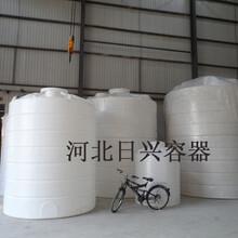 沧州现货直供10吨PE储罐10吨塑料水箱甲醇双氧水储罐日兴PE水箱价格公道厂家直销图片