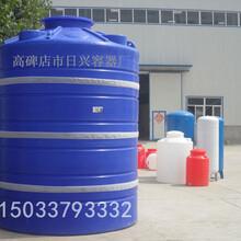 信阳20吨PE储罐20立方日兴化工储罐塑料储罐酸碱储罐日兴容器规格齐全厂家直供图片