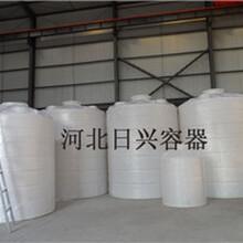 德州30吨塑料储罐化工储罐耐酸碱耐腐蚀日兴PE水箱价格公道厂家直销图片