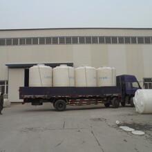 张家口10立方PE储罐10吨塑料桶塑料储罐耐酸碱耐腐蚀日兴容器规格齐全厂家直供图片