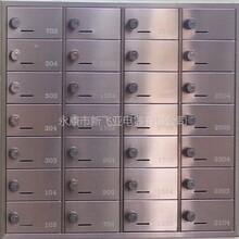 杭州萬科密碼鎖不銹鋼信報箱圖片