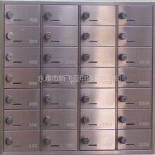 杭州万科密码锁不锈钢信报箱图片