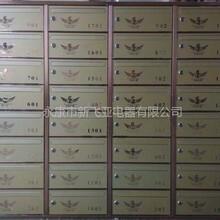 温州品质大盘中央公馆不锈钢信报箱图片