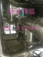 青海硅酸铝铁皮保温工程图片