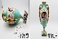 可靠弘粹修復陶瓷古玩西洋瓷破碎修復質量可靠,西洋骨瓷修復
