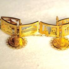 英女皇骑士章古建筑人物纪念手环图片