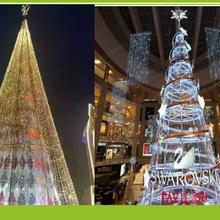 杭州圣诞树出租雕塑美陈圣诞主题圣诞树制作租赁图片