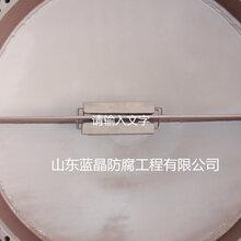海上石油鉆井平臺冷卻器犧牲陽極保護防腐圖片