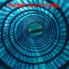 黑龙东森游戏主管软式透水管价格,软式弹簧排水盲沟图片