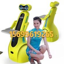 餐厅智能迎宾机器人卒轻山东即墨酒店送餐机器人硅智送餐机器人厂家