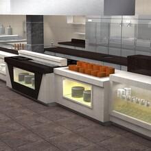 开放型厨房迪克森直销厂家专业改造餐饮厨房便捷化图片