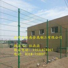 安全防护隔离围栏绿色铁丝网双边栅网生产厂家