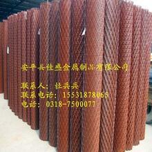 钢板网防护建筑施工铁丝网菱形网围挡钢笆片生产厂家