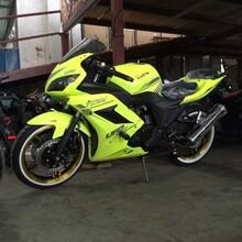 郑州地平线大跑车地平线摩托车专卖店六档机可上牌公路赛跑车