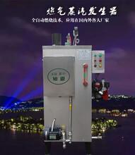 旭恩40kg全自动天然气发生器锅炉小型燃气锅炉不锈钢商用天然气灭菌蒸汽锅炉