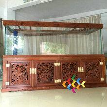 天津鱼缸厂家生态鱼缸欧派水族箱玄关鱼缸客厅大型屏风鱼缸