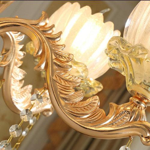 中国风餐厅灯酒店大厅复式楼大吊灯