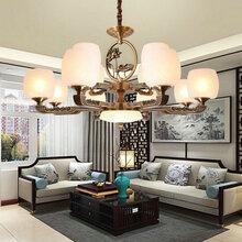 欧式吊灯客厅灯卧室餐厅灯简约现代三室两厅家用全屋灯具组合套餐图片
