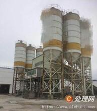 北京回收水泥罐二手攪拌站回收閑置水泥攪拌站拆除回收圖片