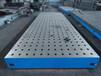 铸铁平板厂家-华威-专业生产铸铁平台20年