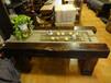 老船木家具船木茶台茶桌茶几茶艺桌客厅仿古泡茶桌桌椅组合