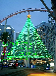 景观亮化led瀑布造型灯,网灯,灯串10米100灯