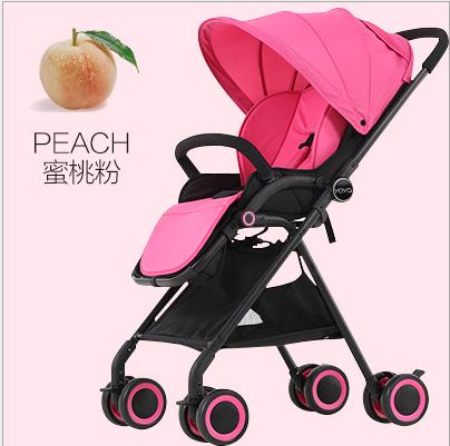 厂家直销轻便婴儿推车宝宝高景观童车防震儿童手推车一件代发