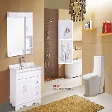 长葛PVC浴室柜批发市场,河南长葛落地式橡木卫浴柜生产厂家