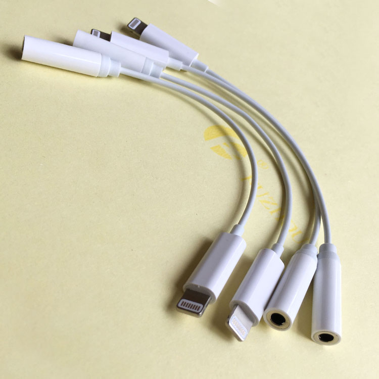 耳机转接头音质lightning接口手机转接线