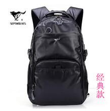 七匹狼双肩包男女韩版潮背包旅行包大高中学生书包电脑包运动休闲