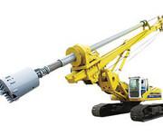 小型旋挖机厂家与打桩机型号的较量图片