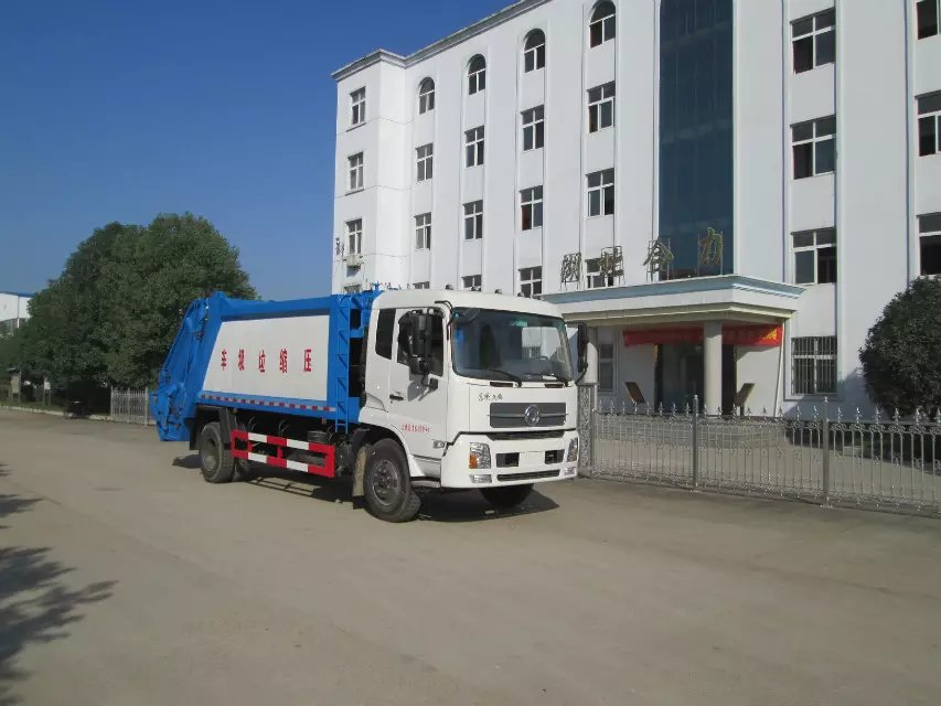 压缩式垃圾车5-12方湖北合力厂家直销供应